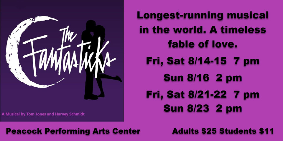 The Fantasticks at the Peacock