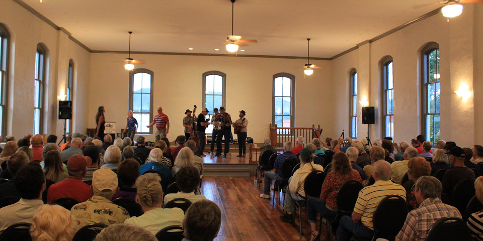 First Concert in Restored Courthouse 8/3