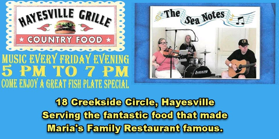 Friday Night Music at Hayesville Grille