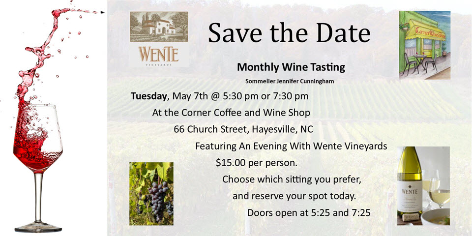 Monthly Wine Tasting on the Square