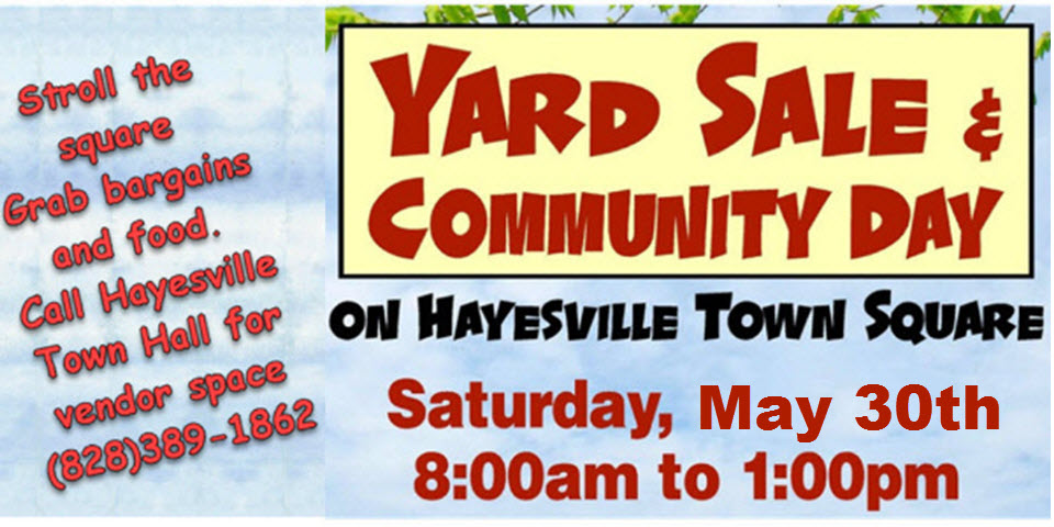 Mayors Yard Sale and Community Day