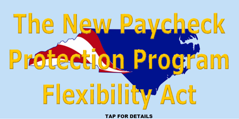 The New Payment Protection Program Flexibility Act