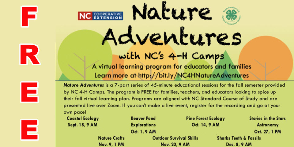 Nature Adventure Camps FREE