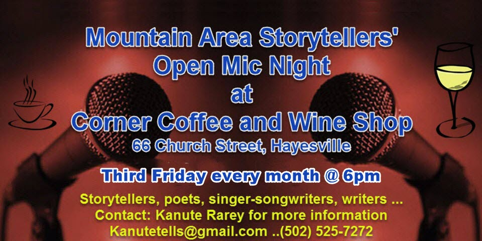 Monthly Open Mic Night