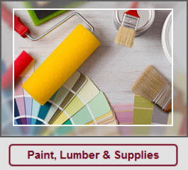Paint, Lumber & Supplies